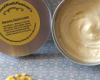Handmade Beeswax Facial Lotion