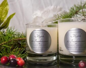 Myrrh & Frankincense Scented Candle 8oz