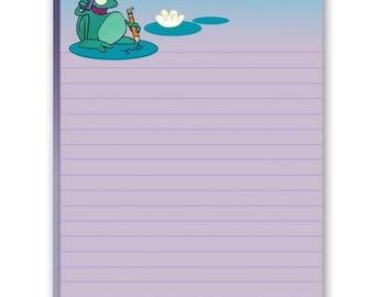 Cute Frog Note Pad - 2 Cute Note Pads - 35005