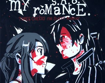 My S.A.O. Romance Canvas Print