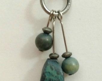 Rockin Turquoise Triple Threat Earrings