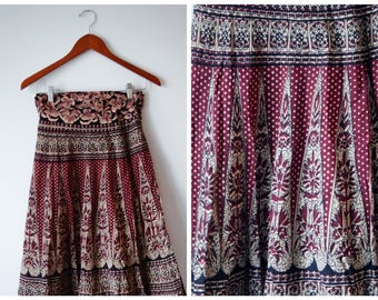 Free size hippie wrap skirt
