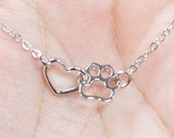 Pet Lover Necklace with Chain