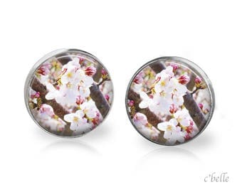 Earrings cherry blossoms 57