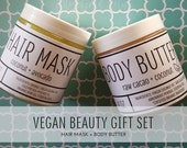 Vegan Beauty Gift Set, Vegan Spa Gift Set