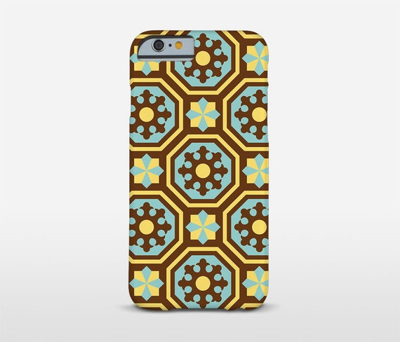 Vintage Phone Case, Barcelona Tiles, iPhone 7 Cases, iPhone Plus Case, Nexus 5X, Moto G2, Nokia Lumia Cases and more