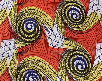 Economy Fabric: Yellow/Orange - 12 Yards