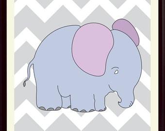 Nursery art, Elephant poster, Animal prints, Children gift, Kids room decor, Play room decor, Wall art, Wilde life poster, Elephant art