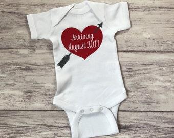 pregnancy announcement shirt, new baby announcement, grandparent pregnancy announcement, valentines pregnancy announcement, pregnancy reveal