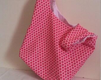 Polka Dot Grocery Bags