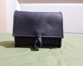Compact Belt Pouch, Cigarette Case, Magic Deck Case,  Matte Black
