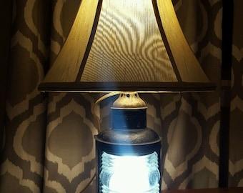 Lamp Railroad Railroad Convex Lens Glass Lantern Electric Conversion Table Light