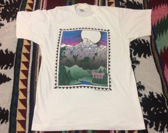 1992 Colorado Mountain Club Tshirt Size Large