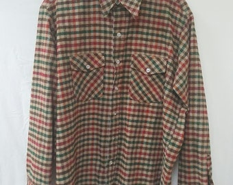 Vintage Mt Olive Flannel