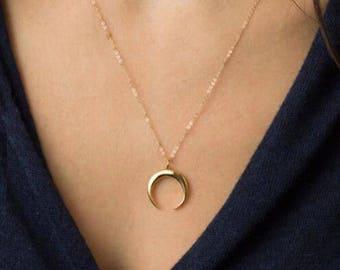 Dainty Crescent Moon