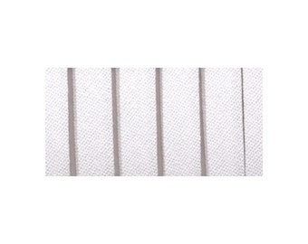 """White Double Fold Bias Tape, 1/4"""" (6.35mm) by 4-Yard (3.6 meters)"""
