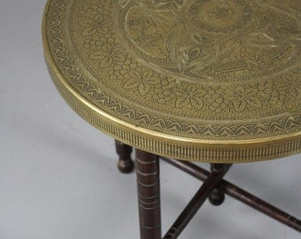 Brass Eastern Coffee Table