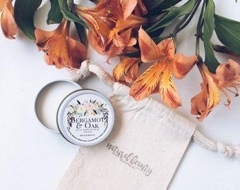 BERGAMOT & OAK Solid Perfume | Natural Perfume Balm