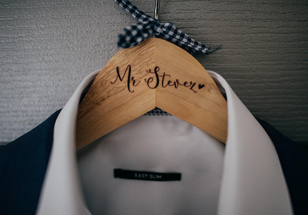 Aufkleber für benutzerdefinierte Kleiderbügel Kleid Hochzeit