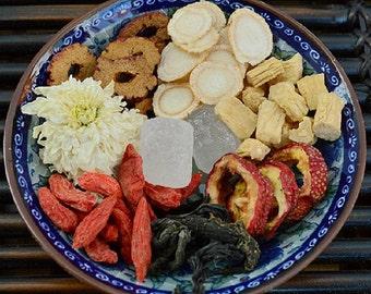 China Babao Herbal Tea Chinese Eight Treasures Tea Blend Health Tea Ba Bao Cha, Free Shipping