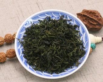 Organic Chinese Kuding Herbal Green Tea Loose Leaf Slightly Bitter Ku Ding Tea