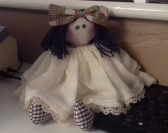 Handmade Rag Doll - Made to Order