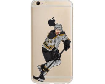 Krech Hockey Phone Case / Hockey Phone Case / Fits iPhone 5, iPhone 6, iPhone 7 / Handdrawn iPhone Case by DangleGear Co