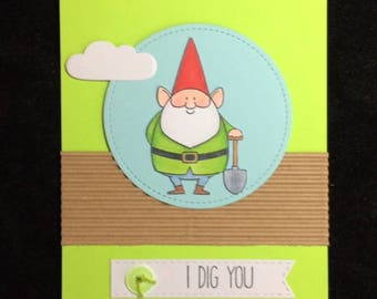 I Dig You Greeting Card