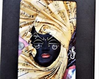 Fine Art Greeting Card: Queen of Sheba