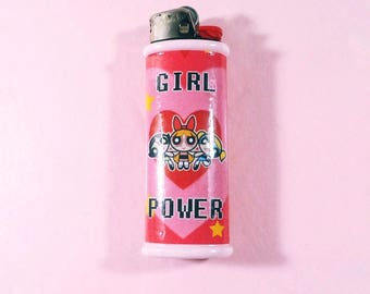 Girl Power - The Powerpuff Girls Bic Lighter Case