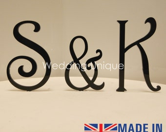 Cake Topper letters acrylic various colours available
