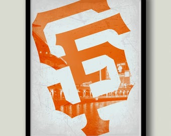 San Francisco Giants Printable Art, Instant Download