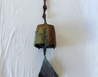 Large Paolo Soleri Bronze Bell