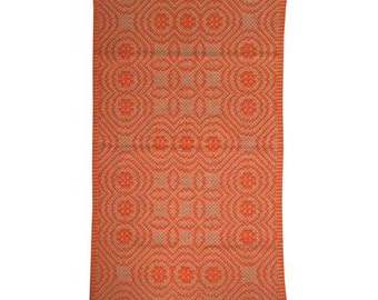 "Italian Marakita Rug Orange - 2'6"" X 4'5"""