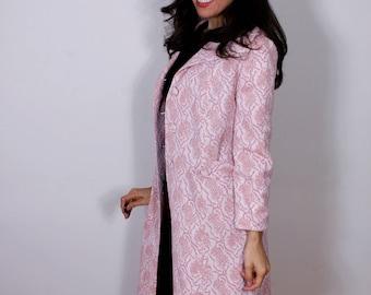 Edith Flagg California 1960s Pink Coat
