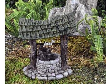 Fairy Garden  - Mini Wishing Well - Miniature