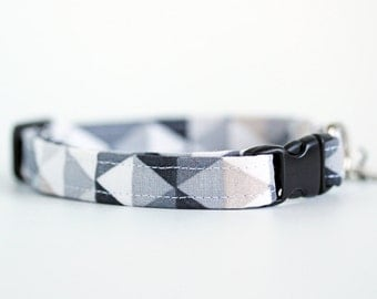 Natural Geometric Cat Collar