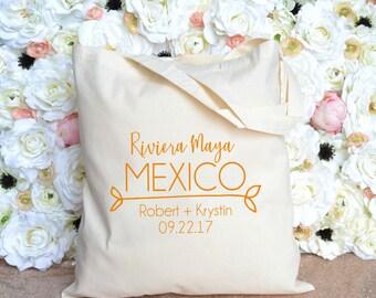 Destination Wedding Welcome Bag - Riviera Maya, Mexico