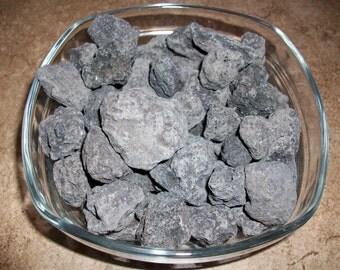 Black Lava Stone Chunk