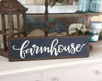 Farmhouse Sign | Farmhouse Decor | Farmhouse Style | Farmhouse Wall Decor | Rustic Farmhouse Sign | Fixer Upper Decor | Home Decor