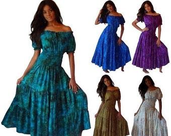 Batik Maxi Dress