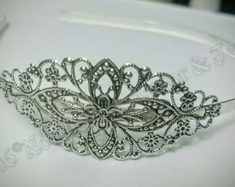 Silver Plated Brass Hair Bands