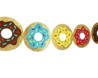Boys Donut Banner - Donut Birthday Party - Donut Grow Up - Boys Birthday - Donut Party Decorations - Donut Birthday Banner - Donut Party