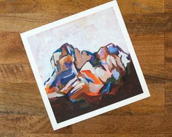 Orange Bend Print | Big Bend Series