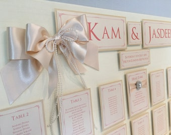 Extra Large | Wedding/Event Table/Seating Plan