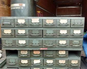 18 Drawer Steel storage unit