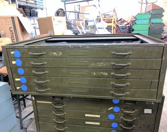 Hamilton Flat File Steel 5 drawer