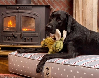 Swappers Refreshers Dog Bed - Beach, Grey Spot and Duck Stripe