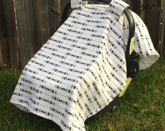 Car Seat Canopy - Car Seat Cover