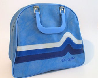 Don Carter Marbled Blue Bowling Ball Bag